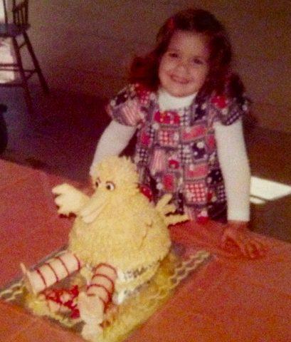 Big Bird cake -2